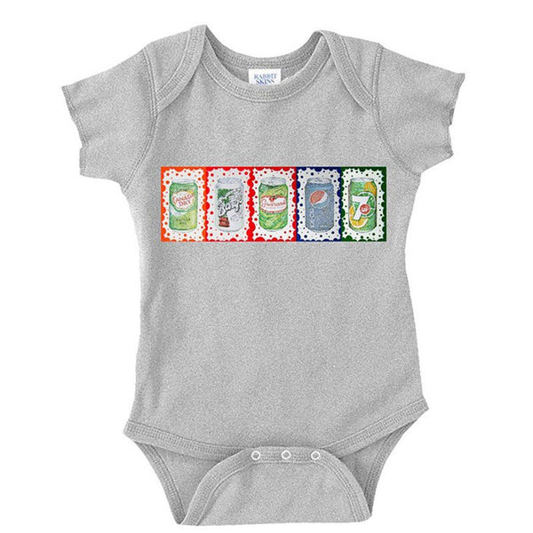Pop Art 2 Baby Bodysuit