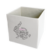 Expressive Typography Rabbit Storage Bin