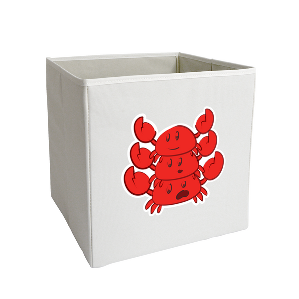 Stacked Crab Storage Bin