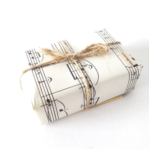 Anoint Lotion Bar - Upcycled Music Wrapping