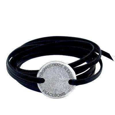 Story Coin Wrap Bracelet - Black