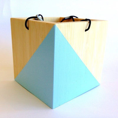 Hanging Planter Box - Light Blue