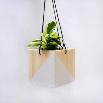 Hanging Planter Box - White