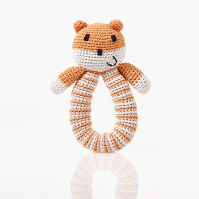 Organic Bear Rattle - Orange