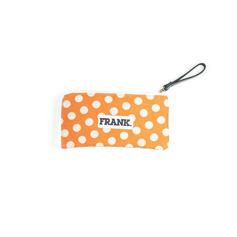 Marco Pencil Case - Orange Polka Dots