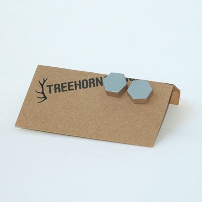 TreeHorn Design Studs - Grey