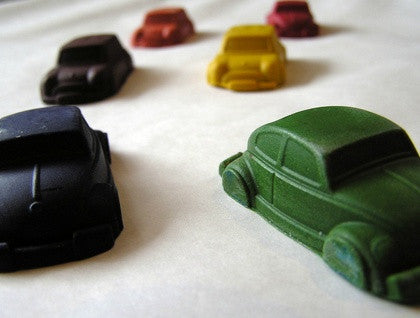 Crazy Crayons Cars - 6 pack
