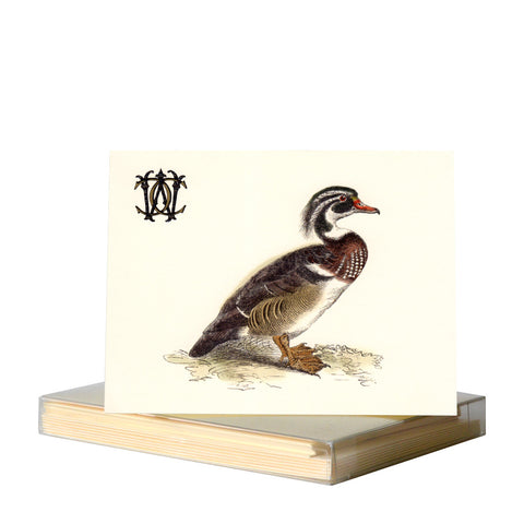 Woodlands duck notecards by Whim & Caprice