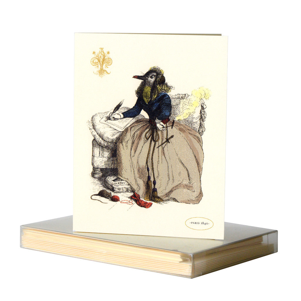 Georg Sandpiper Notecard by Whim & Caprice