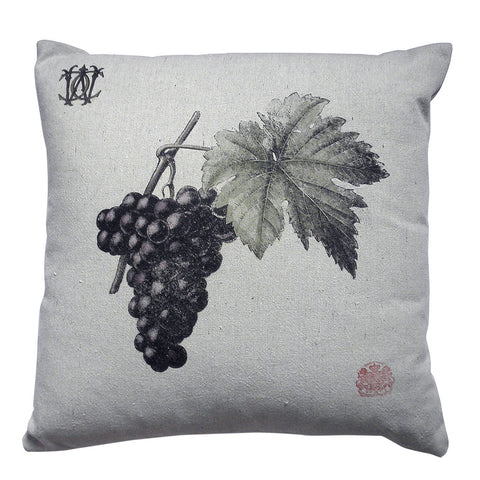 Grape pillow by Whim & Caprice