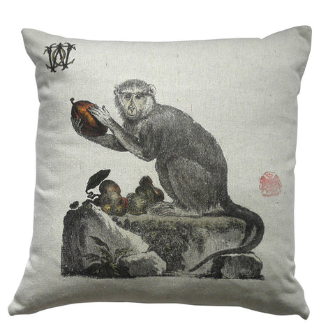 Monkey I Pillow