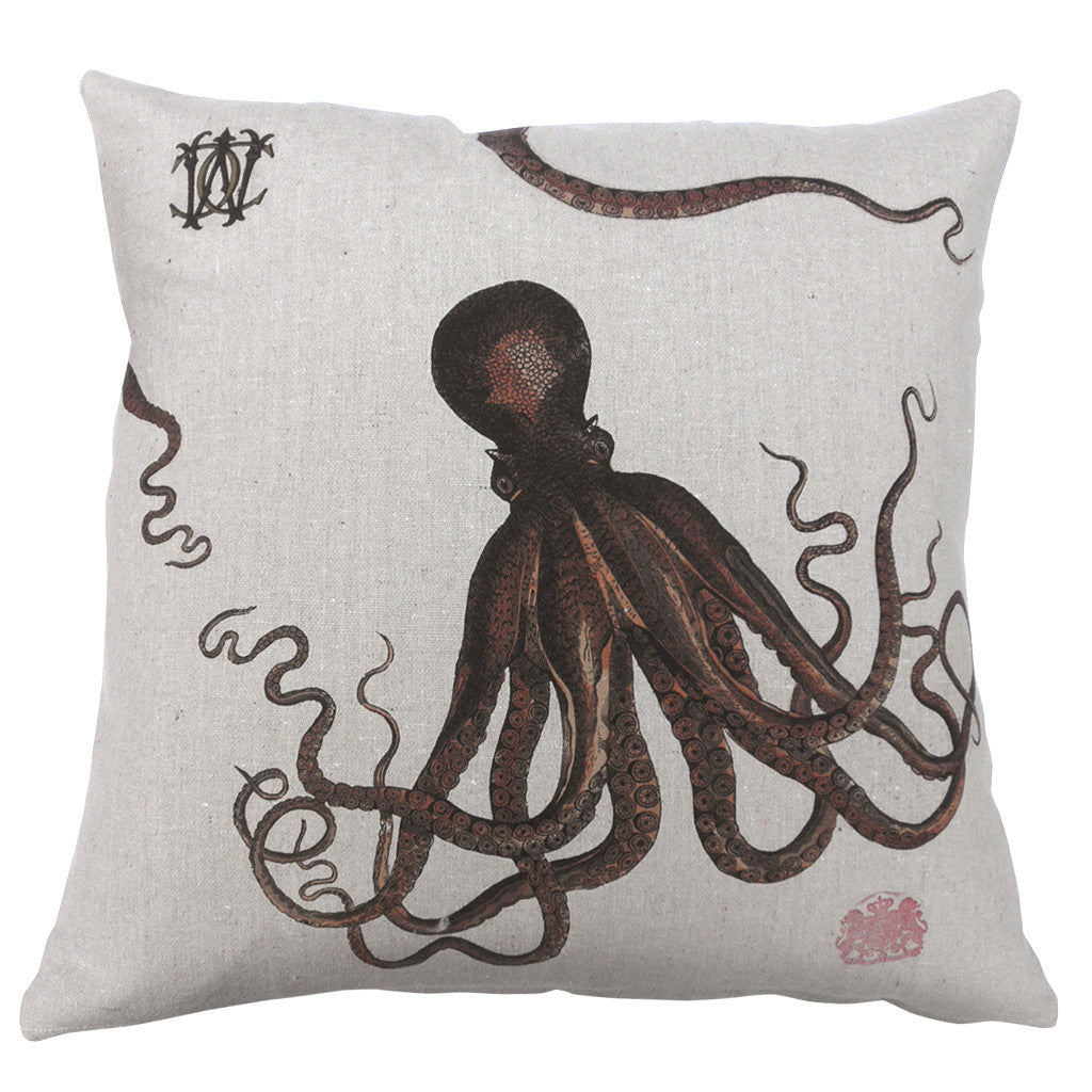 Octopus pillows by Whim & Caprice
