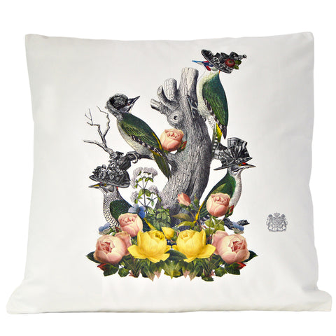 Posh Birds Pillow