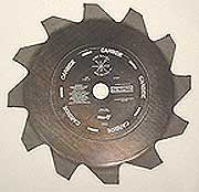 "Fire Hooks Unlimited: ""The Chopper"" 12""x12 Tip Carbide Tip Saw Blade"