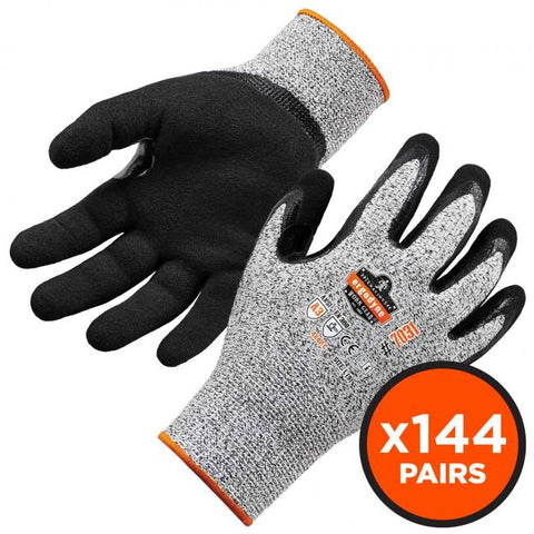 Ergodyne: ProFlex 7031-CASE Nitrile-Coated Cut-Resistant Gloves