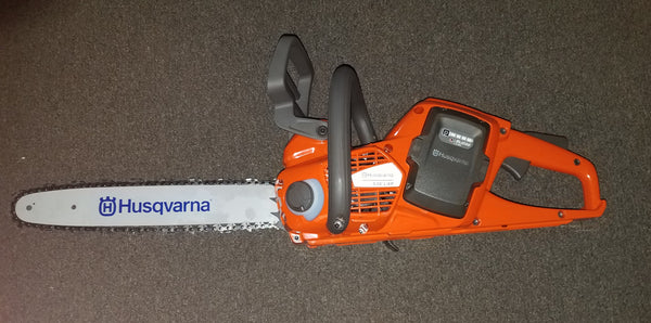 "Fire Hooks Unlimited: 14"" HUSQVARNA BATTERY POWERED CHAIN SAW"