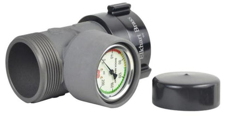 "Elkhart Brass: 228A - 2.5"" or 1.5"" Pressure Gauge"
