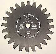 "Fire Hooks Unlimited: ""The Chopper"" 12""x24 Tip Carbide Tip Saw Blade"