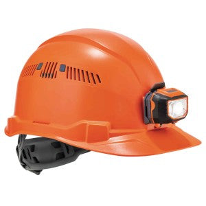 Ergodyne: Skullerz 8972LED Class C Cap-Style Hard Hat + LED Light with Ratchet Suspension