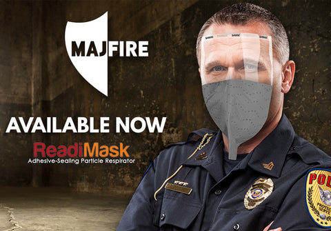 Majestic Fire Apparel: ReadiMask with Eyeshield Particle Respirator