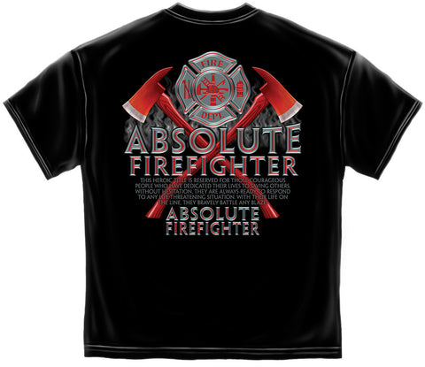 Erazor Bits: Absolute Firefighter T-Shirt