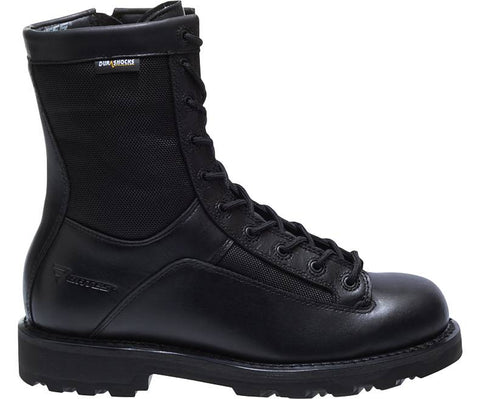 "Bates: MEN'S 8"" DURASHOCKS® LACE-TO-TOE SIDE ZIP BOOT"