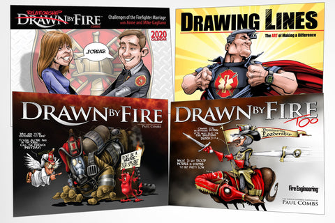 Fire Engineering Books: Drawn by Fire Bundle