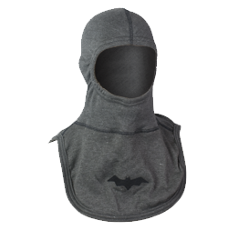 Majestic Fire Apparel: Grey PAC II 100% Nomex Batperson Firefighting Hood
