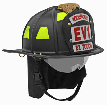 Honeywell EV1 Traditional Fire Helmet Black