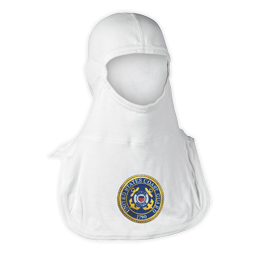 Majestic Fire Apparel: Coast Guard Embroidered PAC II 100% Nomex Firefighting Hood