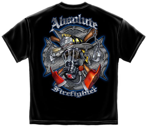 Erazor Bits: Absolute Firefighter SCBA Mask T-Shirt