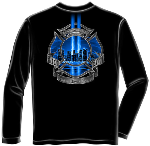 Erazor Bits: Bravery Honor Sacrifice Long Sleeve T-Shirt