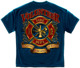 Erazor Bits: Volunteer Firefighter Tradition Sacrifice Dedication T-Shirt