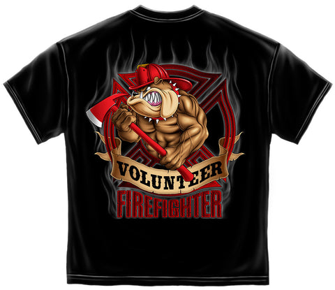 Erazor Bits: Volunteer Fire Dog T-Shirt