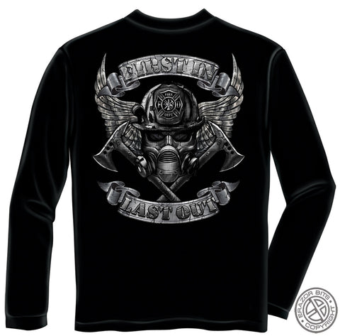 Erazor Bits: First In Last Out Long Sleeve T-Shirt
