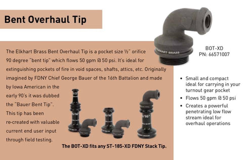 Elkhart Brass: Bent Overhaul Tip