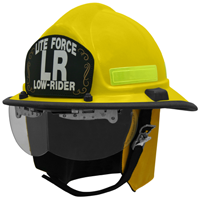 Morning Pride: Lite Force Modern Fire Helmet