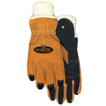 Majestic Fire Apparel: Structural Firefighting Gloves - Wristlet