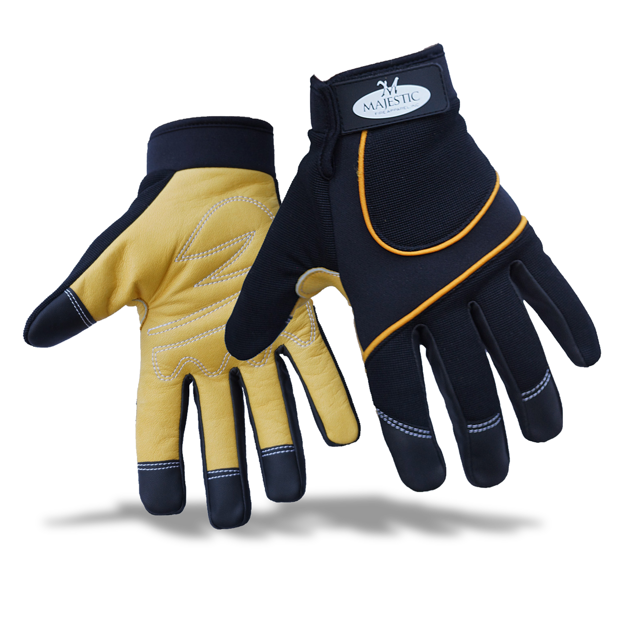 Majestic Fire Apparel: MFA 78 LEATHER PALM MECHANICS GLOVE