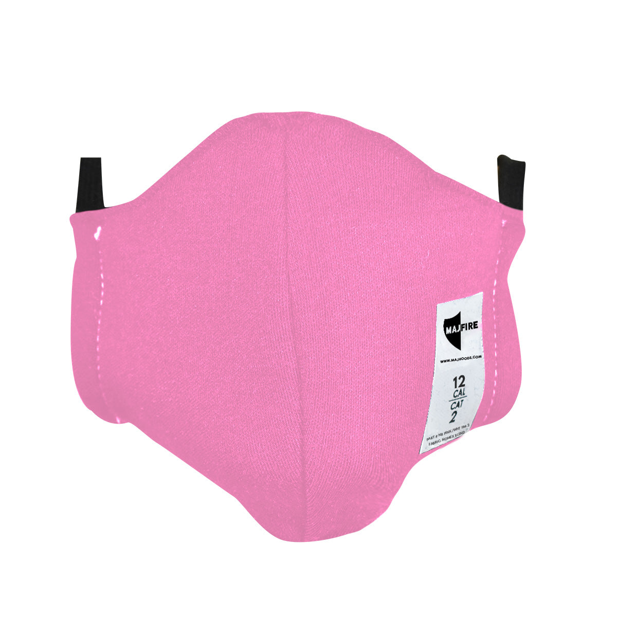 Majestic Fire Apparel: Breast Cancer Awareness FR Face Mask