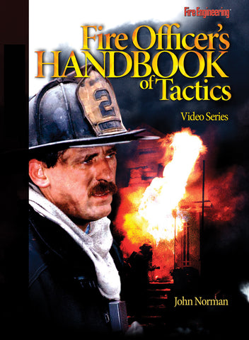 Fire Engineering Books: Fire Officer's Handbook of Tactics Video Series DVD #16