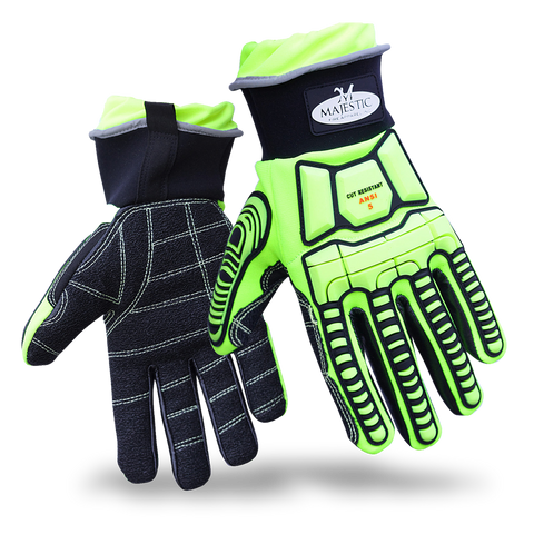 Majestic Fire Apparel: MFA 16 OIL & GAS/EXTRICATION GLOVE