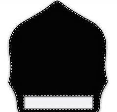 Paul Conway Shields: 6 Inch 1 Bottom Panel Traditional Helmet Shield