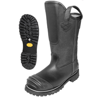 "Pro Warrington:  Model 5006 - 14"" Firefighting Bunker Boot"