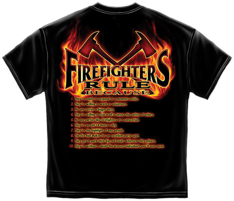 Erazor Bits: Firefighter Rules T-Shirt