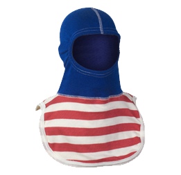 Majestic Fire Apparel: PAC II 100% Nomex Captain America Firefighting Hood