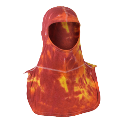 Majestic Fire Apparel: PAC II 100% Nomex Tie-Dye Flame Firefighting Hood