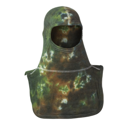 Majestic Fire Apparel: PAC II 100% Nomex Tie Dye Green Camo Firefighting Hood