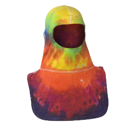 Majestic Fire Apparel: PAC II 100% Nomex Tie-Dye Multi Color Firefighting Hood