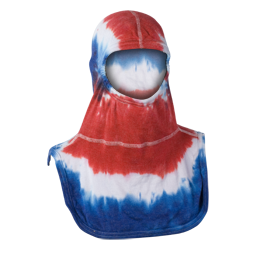 Majestic Fire Apparel: PAC II 100% Nomex Tie-Dye Red/White/Blue Firefighting Hood